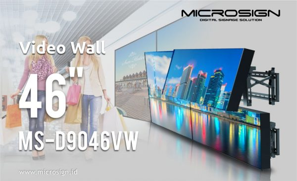 Video wall 46 Inch