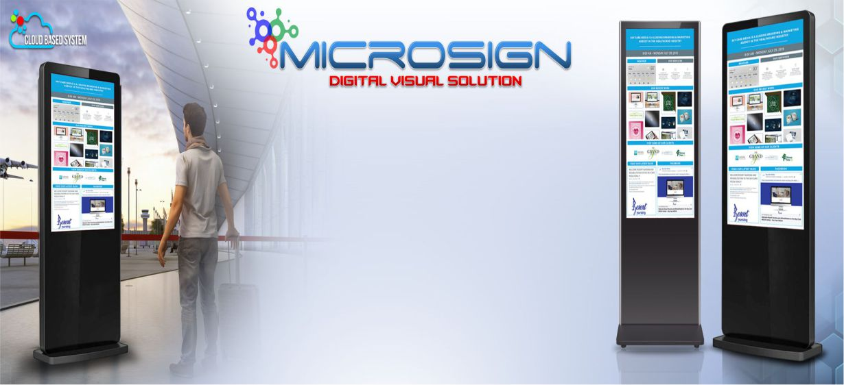 Microsign Banner Digital Signage Solution