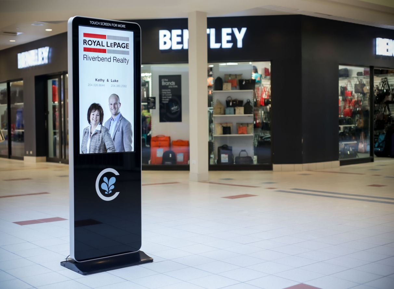 digital signage advertising network