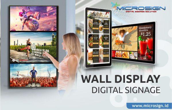 Wall Digital Signage